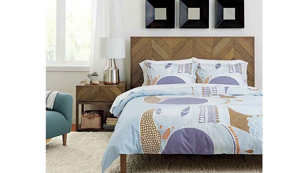 chevron nightstand in chevron beds crate and barrel