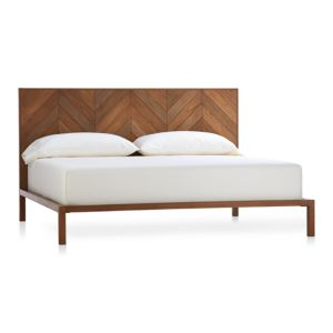 Chevron King Bed