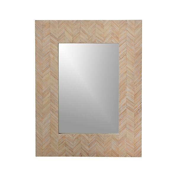Chevron Wall Mirror