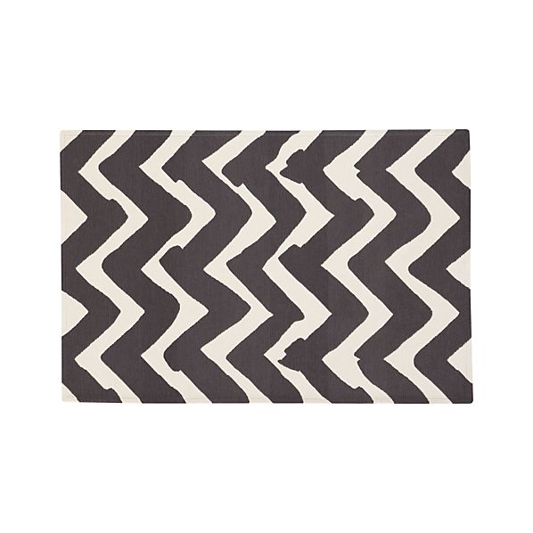 Chevron Outdoor 4'x6' Rug