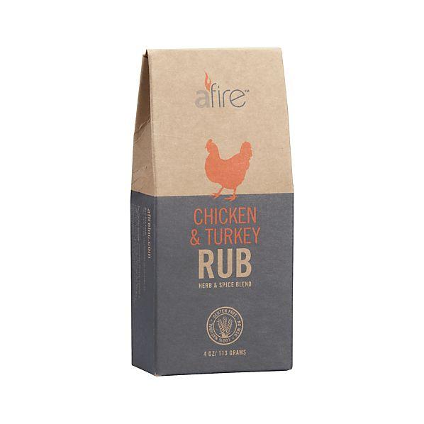 Afire ™ Chicken & Turkey BBQ Rub