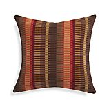 "Chika Spice 20"" Pillow with Feather-Down Insert"