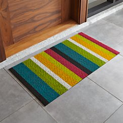 "Chilewich ® Multi Thick Striped 20""x36"" Doormat"