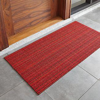 "Chilewich ® Red Striped 24""x48"" Doormat"