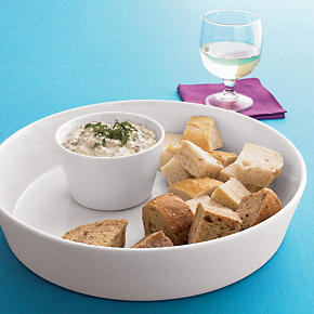 2-Piece Chip and Dip Set - Chip and Dip Set:...