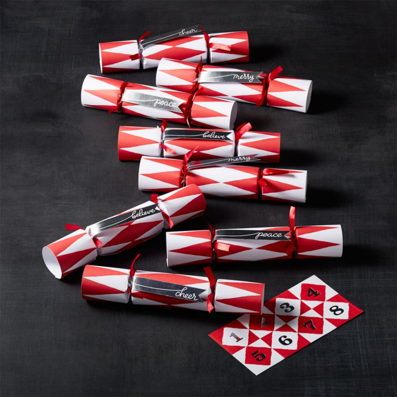 Holiday Crackers Set of 8