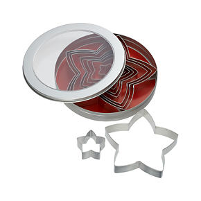 Star Tree Cookie Cutter Set of Ten