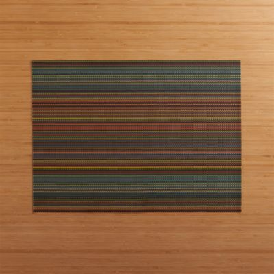 Chilewich® Chroma Dark Stripe Placemat