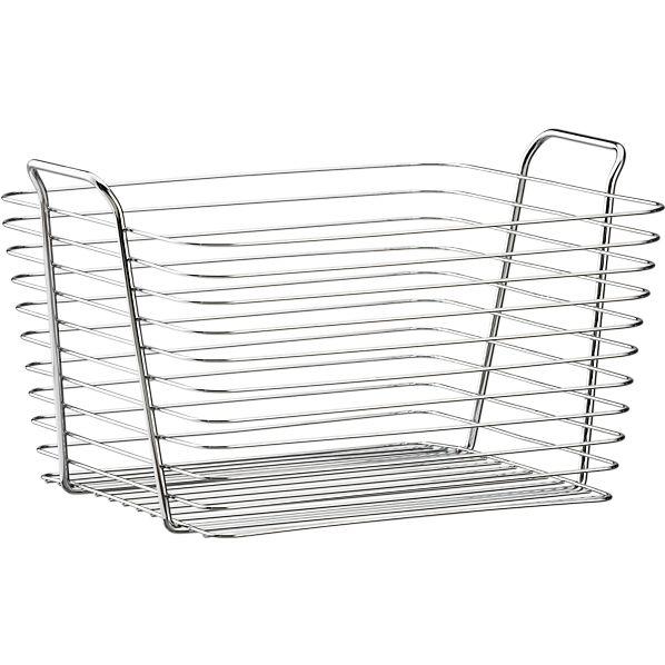Large Chrome Basket