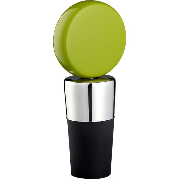 Circ Green Bottle Stopper