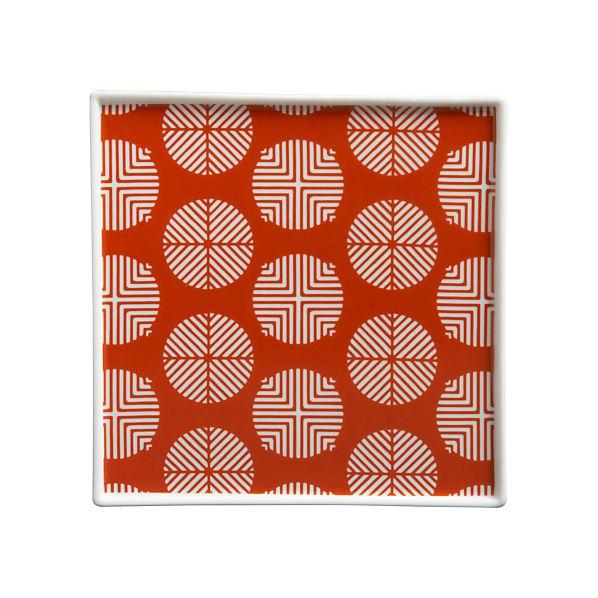 Circle Orange Plate