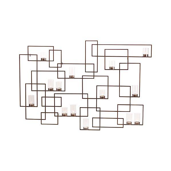 CircuitWallVotiveHldrLitS6