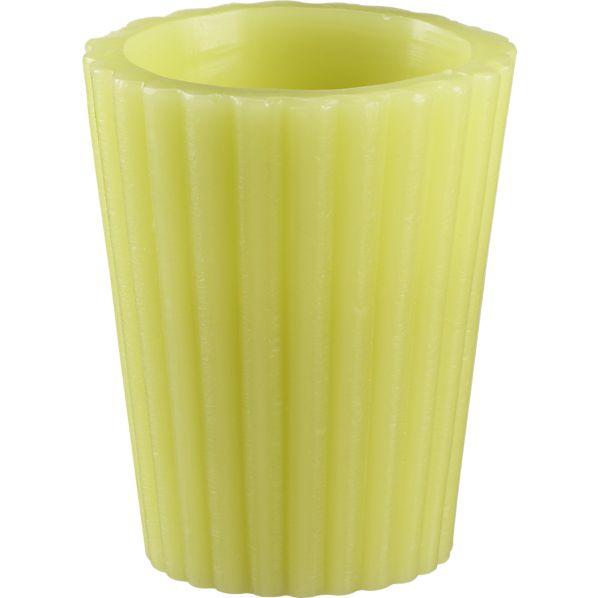Citronella Citron Luminary Candle