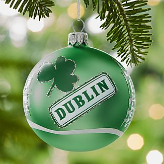 City Dublin Ball Ornament