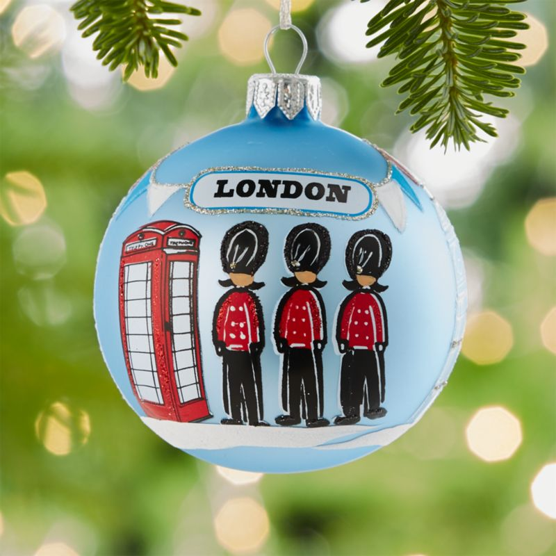 City London Ball Ornament