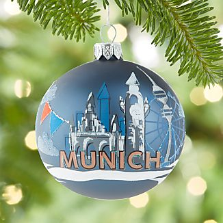 City Munich Ball Ornament