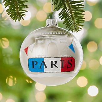 City Paris Ball Ornament