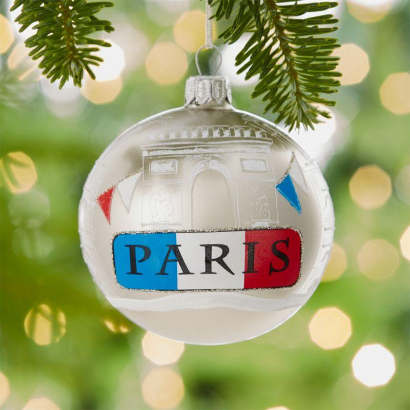 City Paris Ball Ornament