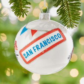 City San Francisco Ball Ornament