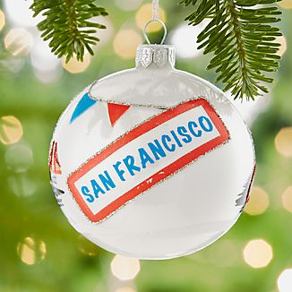 City San Francisco Ball Ornament