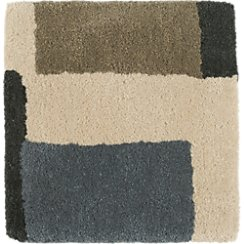 "City Grey Wool 12"" sq. Rug Swatch"