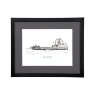 Cityscape Los Angeles Print