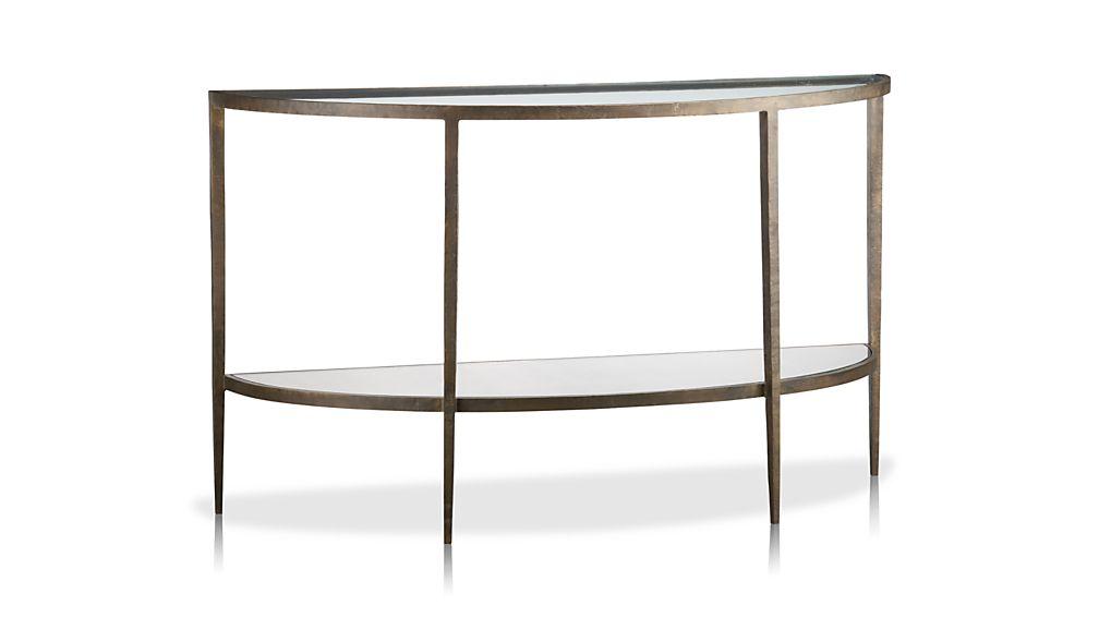 Clairemont Demilune Console Table