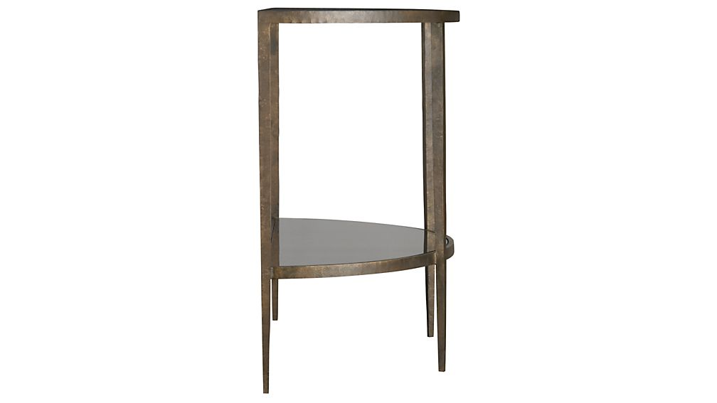 Clairemont Demilune Console Table