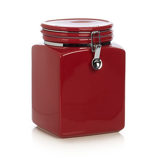 Red Clamp Canister