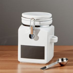 Medium Clamp Canister with Chalkboard