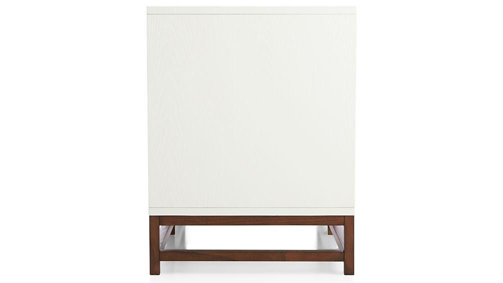 """Clapboard White 48"""" Media Console"""