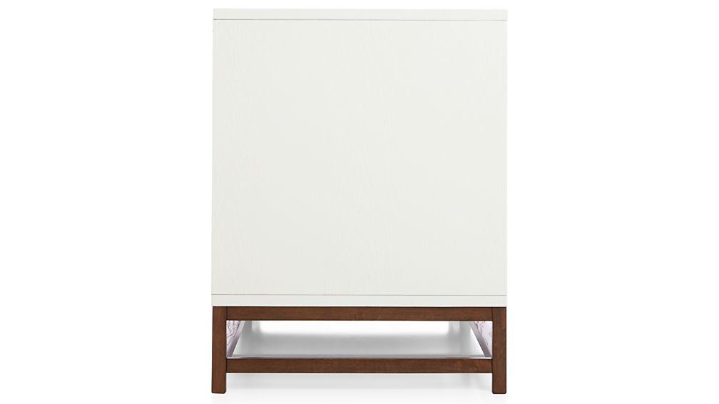 "Clapboard White 60"" Media Console"