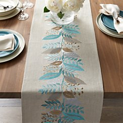 "Clara Linen 120"" Table Runner"