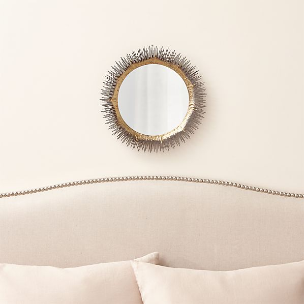 Clarendon Small Round Wall Mirror