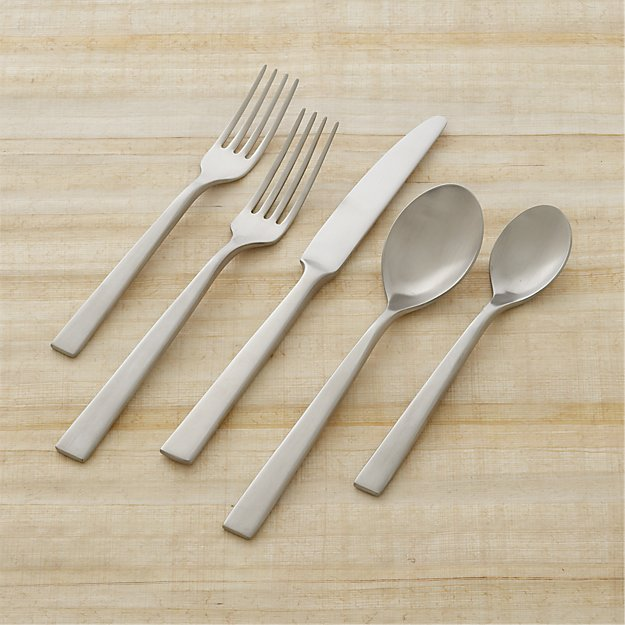 Clark Satin 20-Piece Flatware Set
