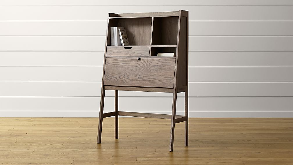 Clarke Secretary Desk in Desks | Crate and Barrel