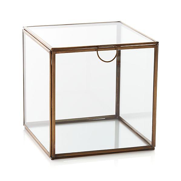 Clarus Large Square Box