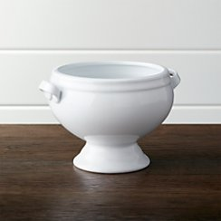 Classic Footed Soup Bowl