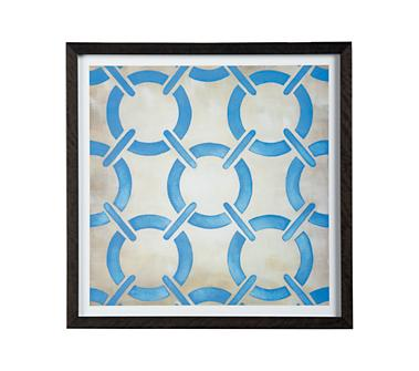 Crate and Barrel - Classical Symmetry Print shopping in Crate and Barrel Prints, Wall Decor