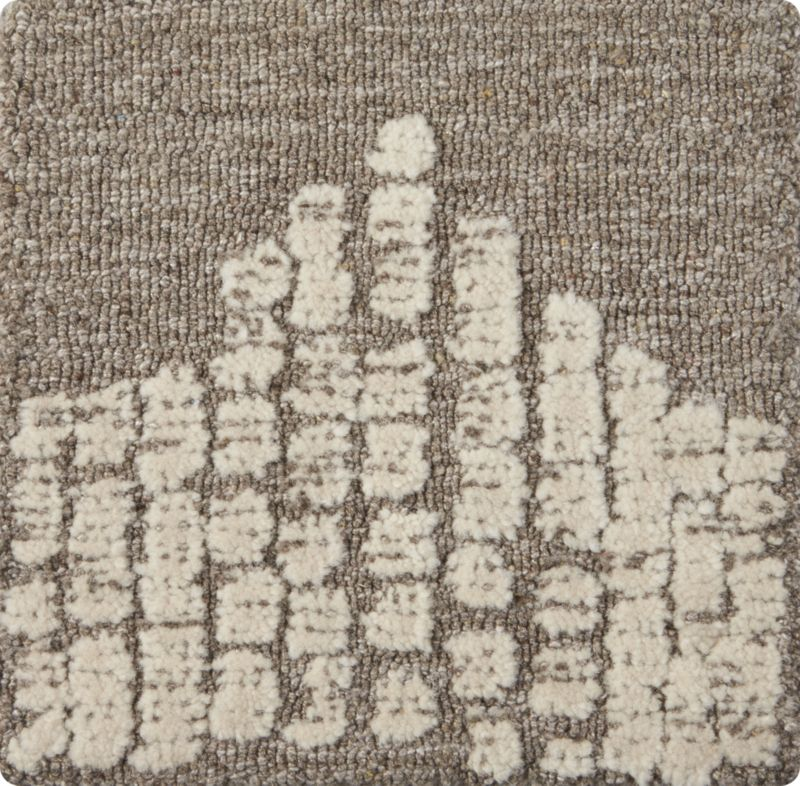 """Clea Wool-Blend 12"""" sq. Rug Swatch"""