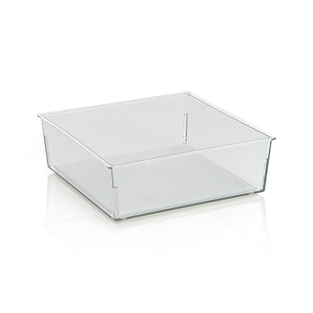Madesmart ® Clear 6x6 Drawer Bin