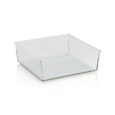 Madesmart® Clear 6x6 Drawer Bin