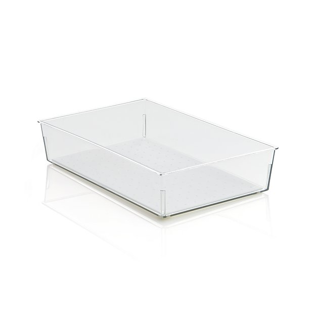 Madesmart ® Clear 9x6 Drawer Bin
