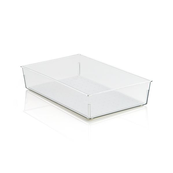 Madesmart ® Clear 9x6 Drawer Bin