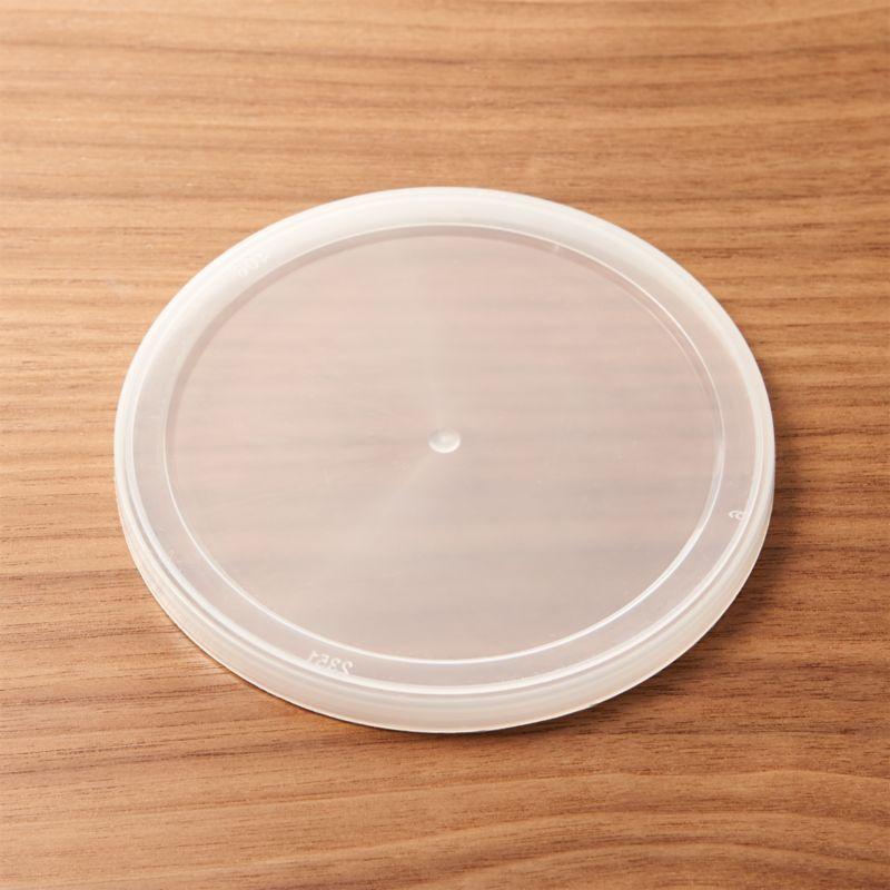Tight-fitting plastic lid fits our popular pint-sized glass storage bowls.<br /><br /><NEWTAG/><ul><li>Do not microwave</li><li>Made in USA</li></ul>