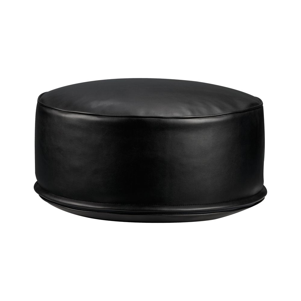 Furniture living room furniture pillow floor pillow for Crate and barrel pouf