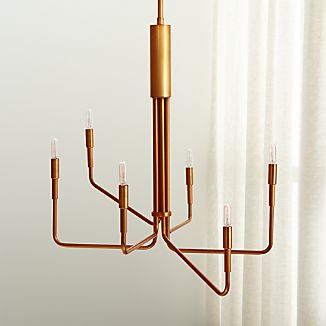 Clive Brass Chandelier
