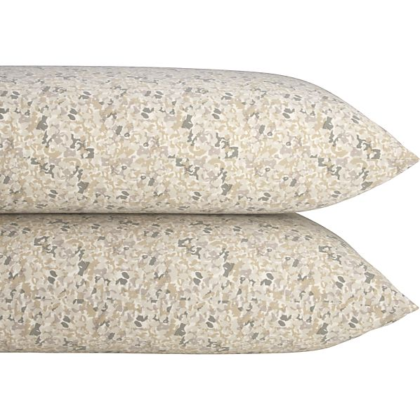 Set of 2 Clove Standard Pillowcases