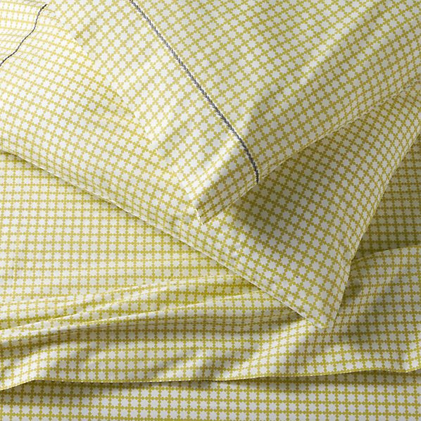 Clover Bamboo Queen Sheet Set