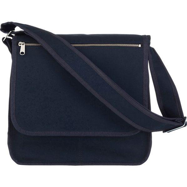 Marimekko Olkalaukku Dark Blue Canvas Bag